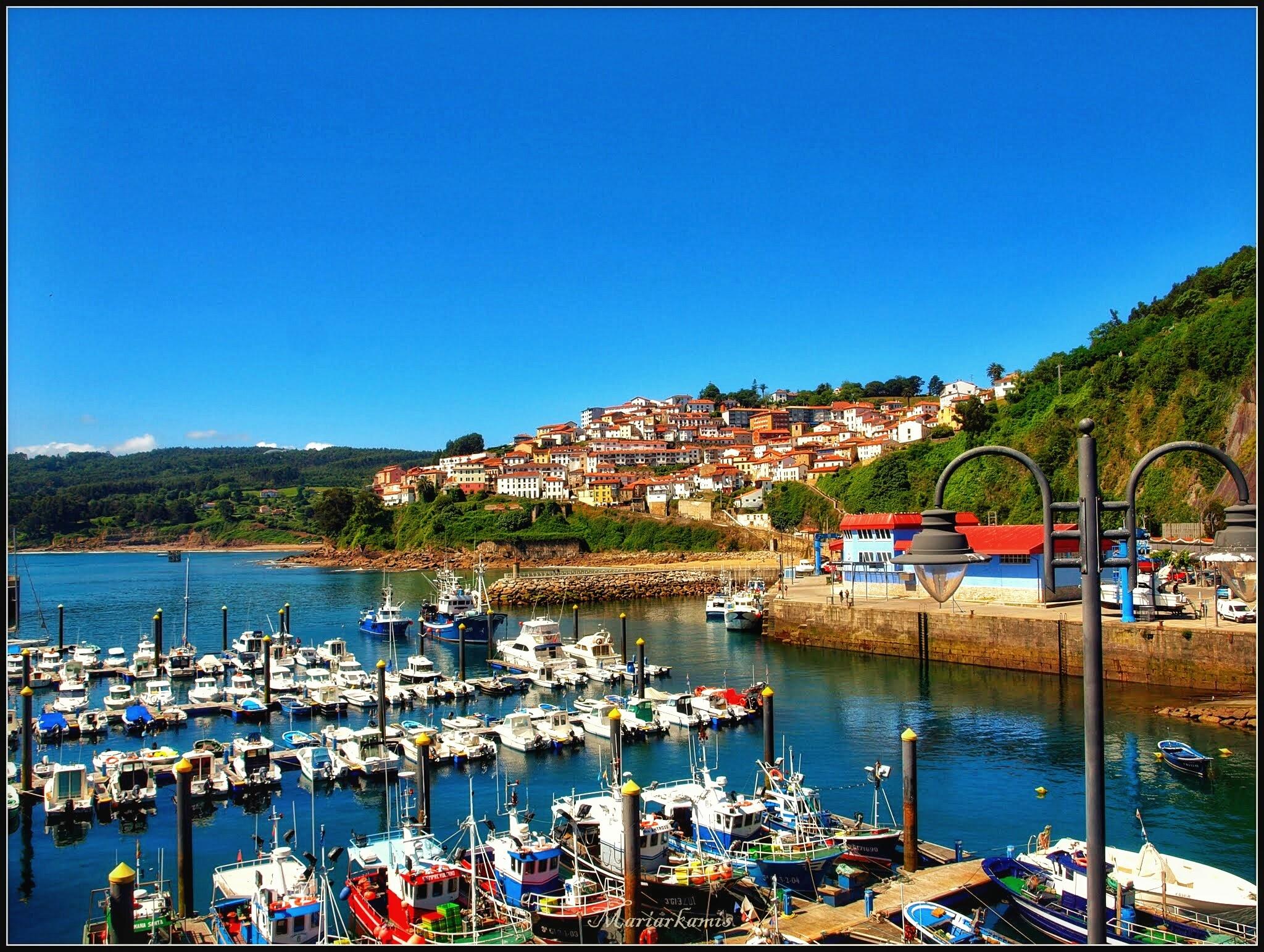 Lastres483-01 Ruta por Asturias: Lastres, Gulpiyuri, los bufones de Pria... Viajes