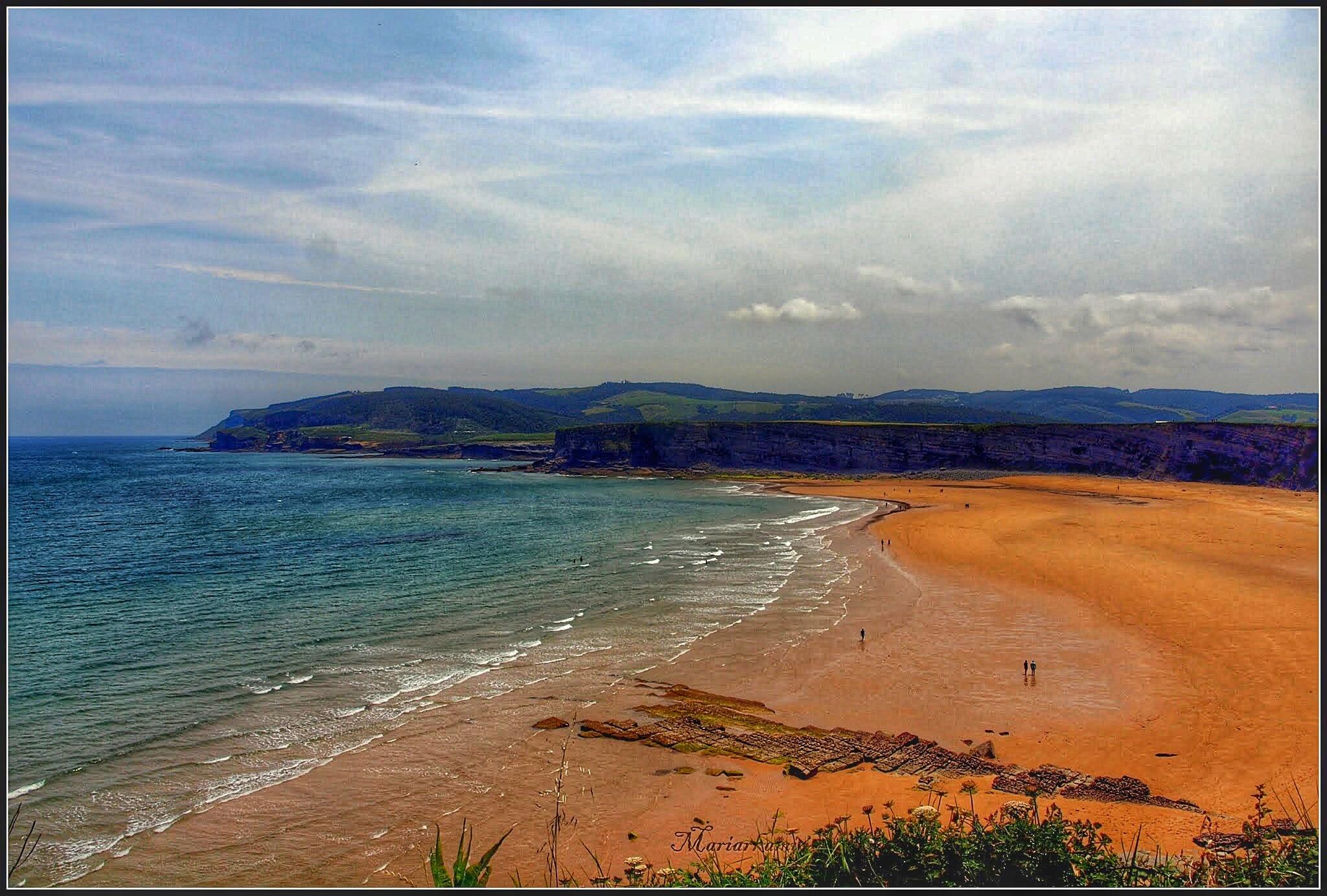 Langre-Playa40-011 Ruta por los pueblos de Ribamontan al Mar Rutas