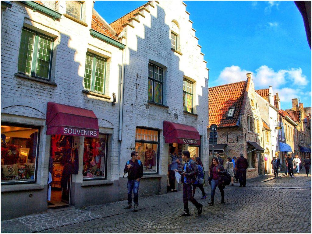 Calle-Walplein273-01-1024x769 4 días en Gante y Brujas. Día 3: Visitamos Brujas Viajes