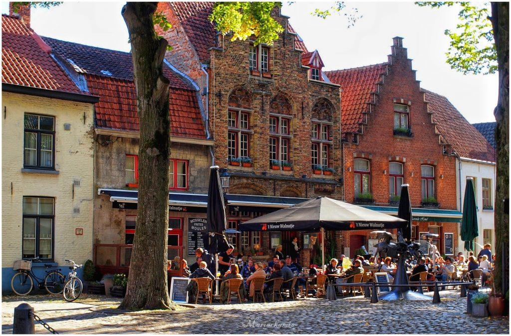 Calle-Walplein283-01-1024x674 4 días en Gante y Brujas. Día 3: Visitamos Brujas Viajes