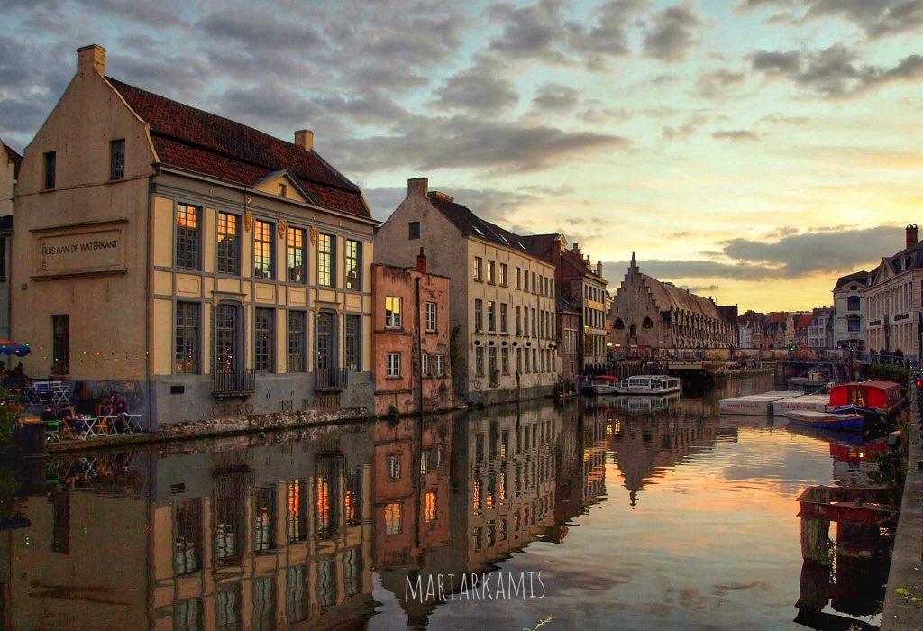 Canales230-1024x700 4 días en Gante y Brujas. Día 1: La llegada Viajes